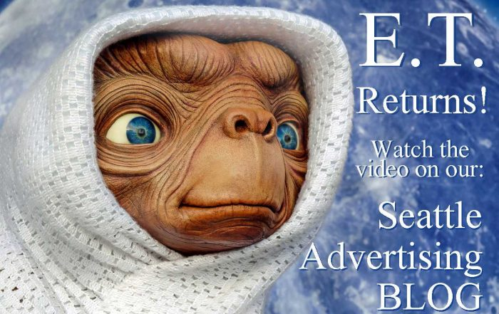 E.T. Returns to Elliot in New Ad - Seattle Advertising